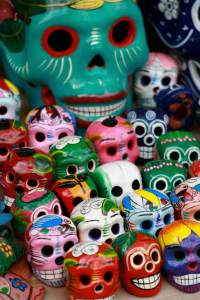 Cozumel skulls