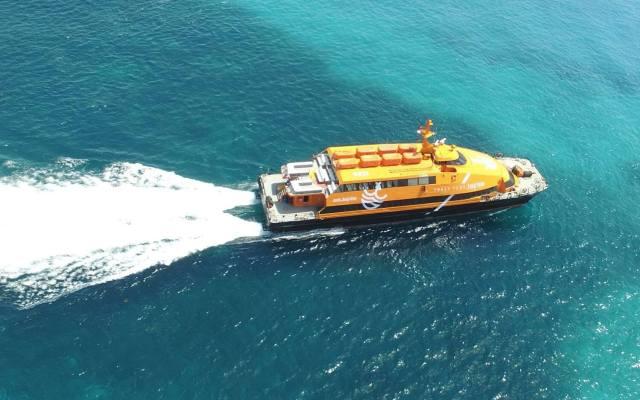 Cozumel My Cozumel winjet ferry
