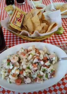 Cozumel My Cozumel Food Top 12 Must Eats ceviche