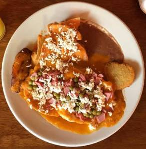 Cozumel Food Top 12 Must Eats chilaquiles