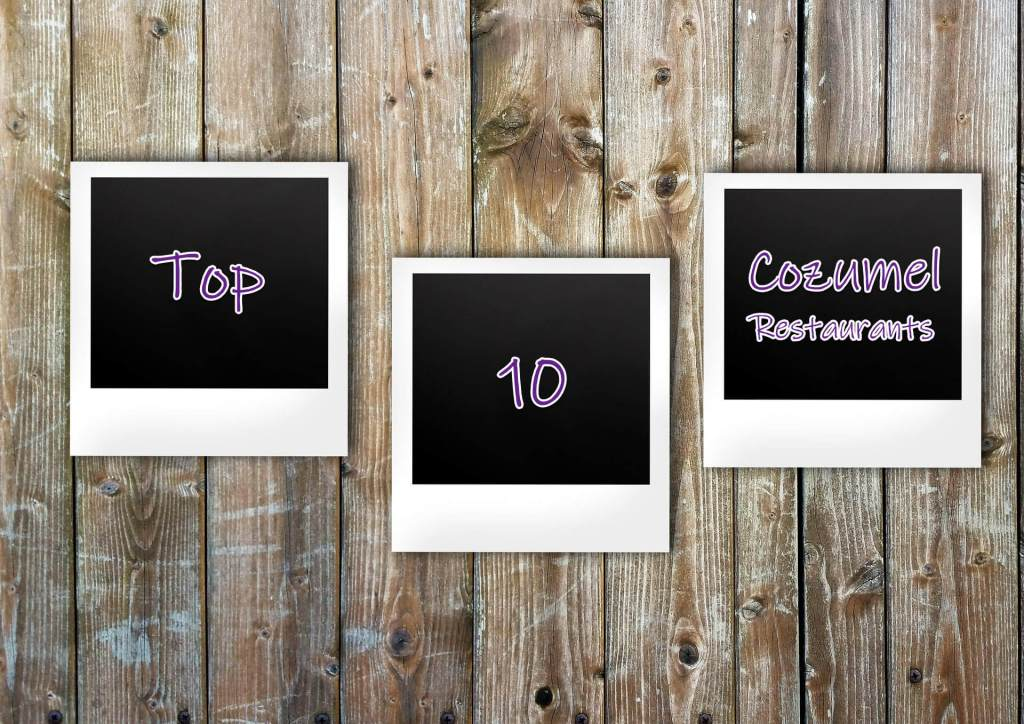 Cozumel My Cozumel Top 10 Restaurants