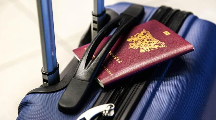 Cozumel My Cozumel luggage and passports