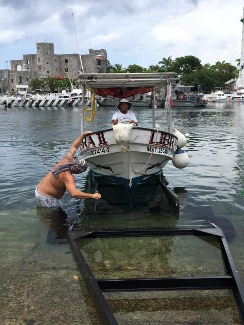 Boat remodel