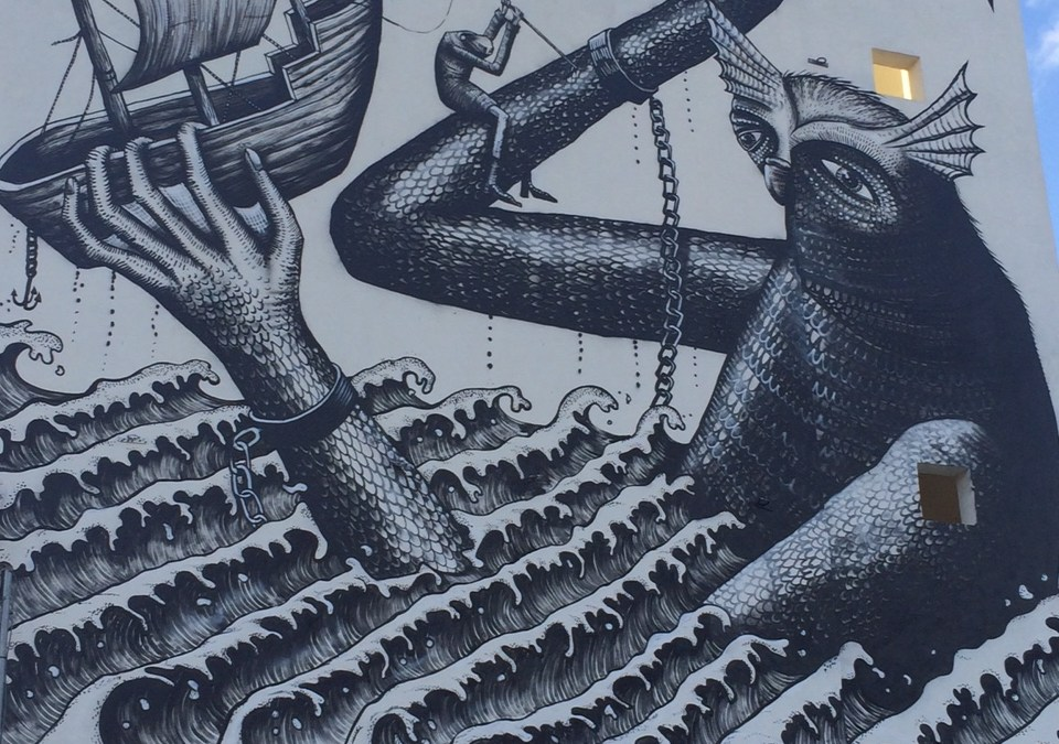 Sea Walls Mural Cozumel 16-20