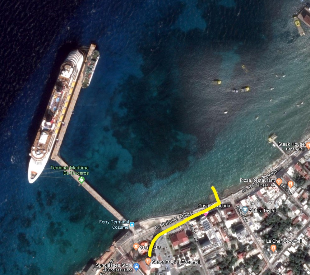 cozumel port, cozumel cruise