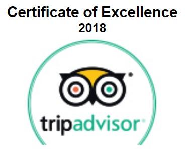 TripAdvisor Certificate Of Excellence - Cozumel Scuba Diving