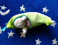 Cozy Baby in a pea pod