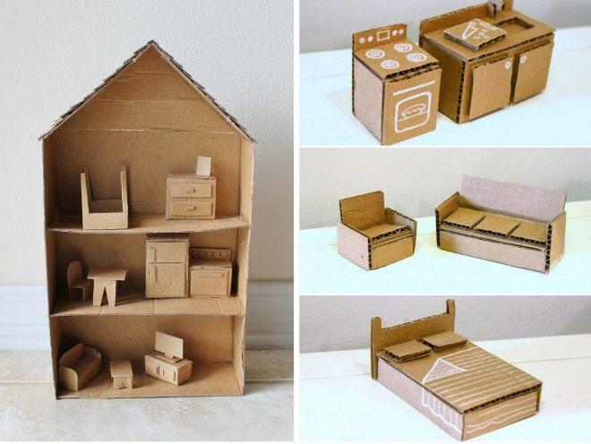 Bútor kartonból