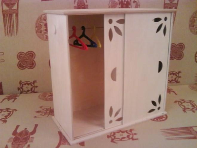 Шкаф из картона: как сделать своими руками