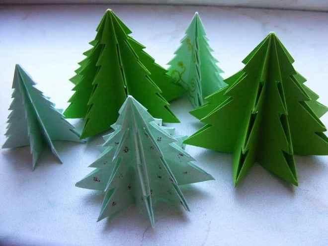 Kağıt Noel ağacı