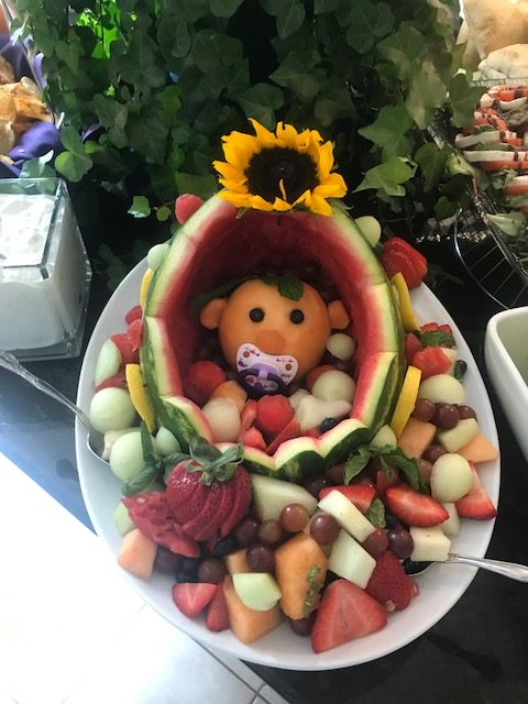 Baby Shower Fruit Bowl : shower, fruit, Diana's, Shower, Caterers
