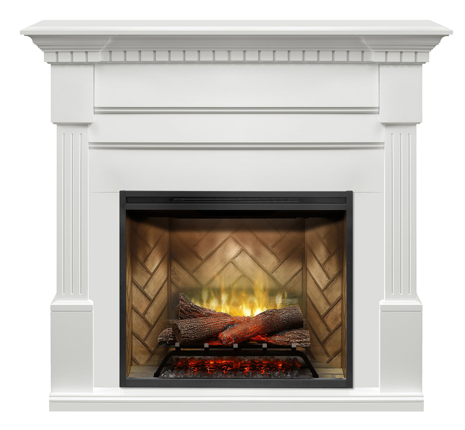 Electric Fireplaces Fireplaces Mantels Christina BuiltRite Mantel  Cozy Comfort Plus