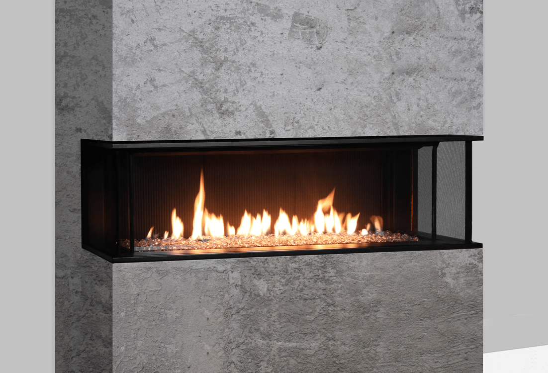 Valor LX2 3Sided Series Gas Fireplace  2200JNJP  Zero