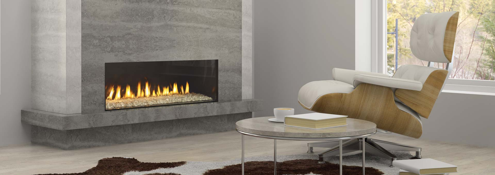 Regency City Series New York View 40 Modern Gas Fireplace  Toronto Best Price