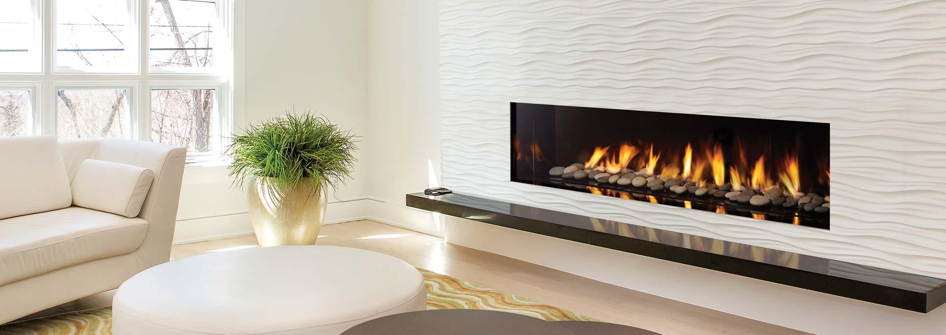 Regency City Series New York View 72 Modern Gas Fireplace