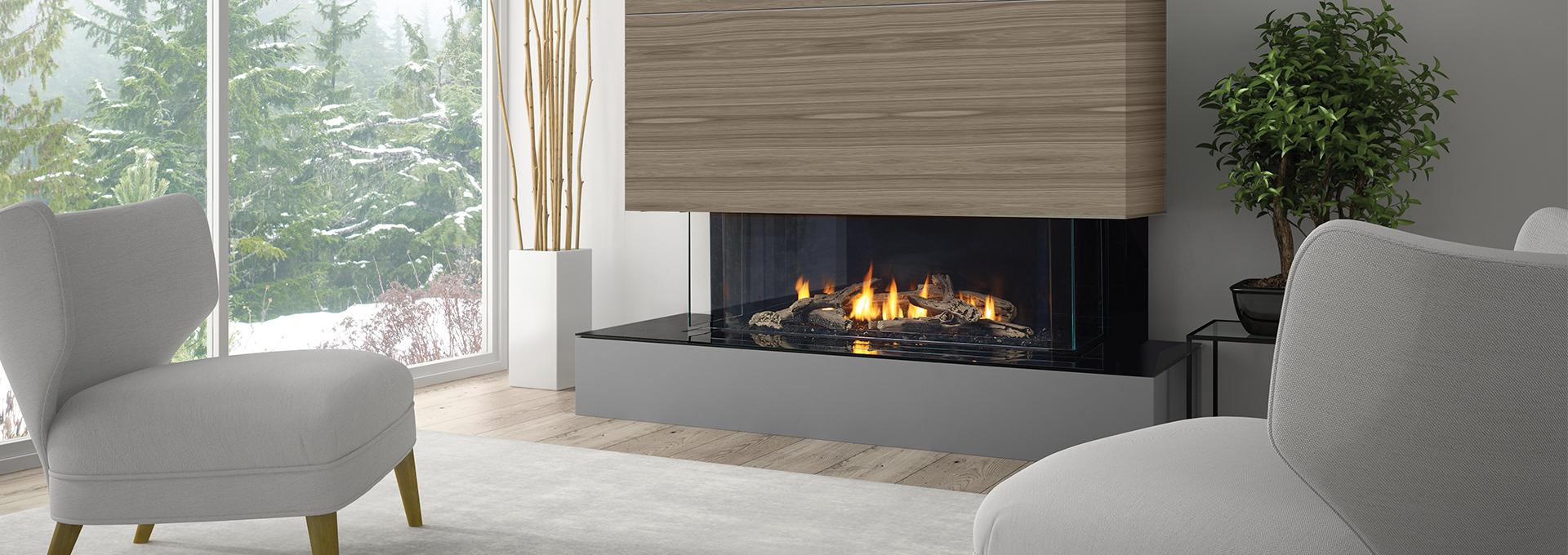 Regency City Series San Francisco Bay 40 Modern Gas Fireplace  Toronto Best Price