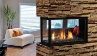 Kingsman MCVP42 Direct Vent Fireplace   Toronto Best Price
