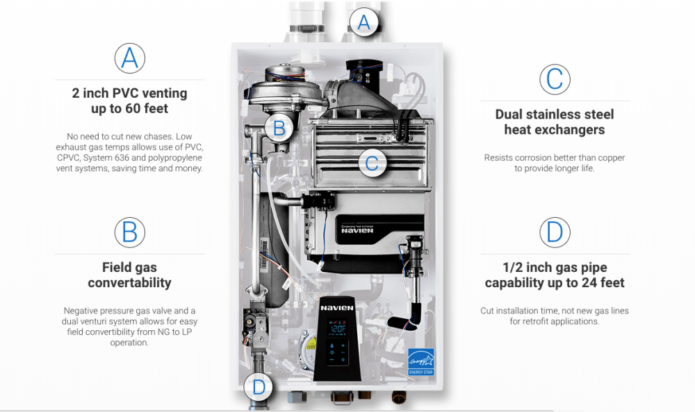 medium resolution of navien npe 180a condensing tankless water heater