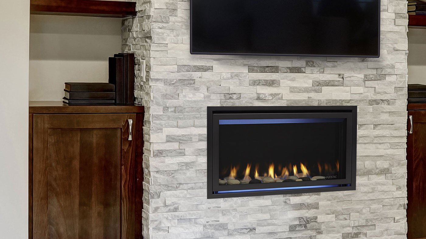 hight resolution of  majestic jade series gas fireplace jade32