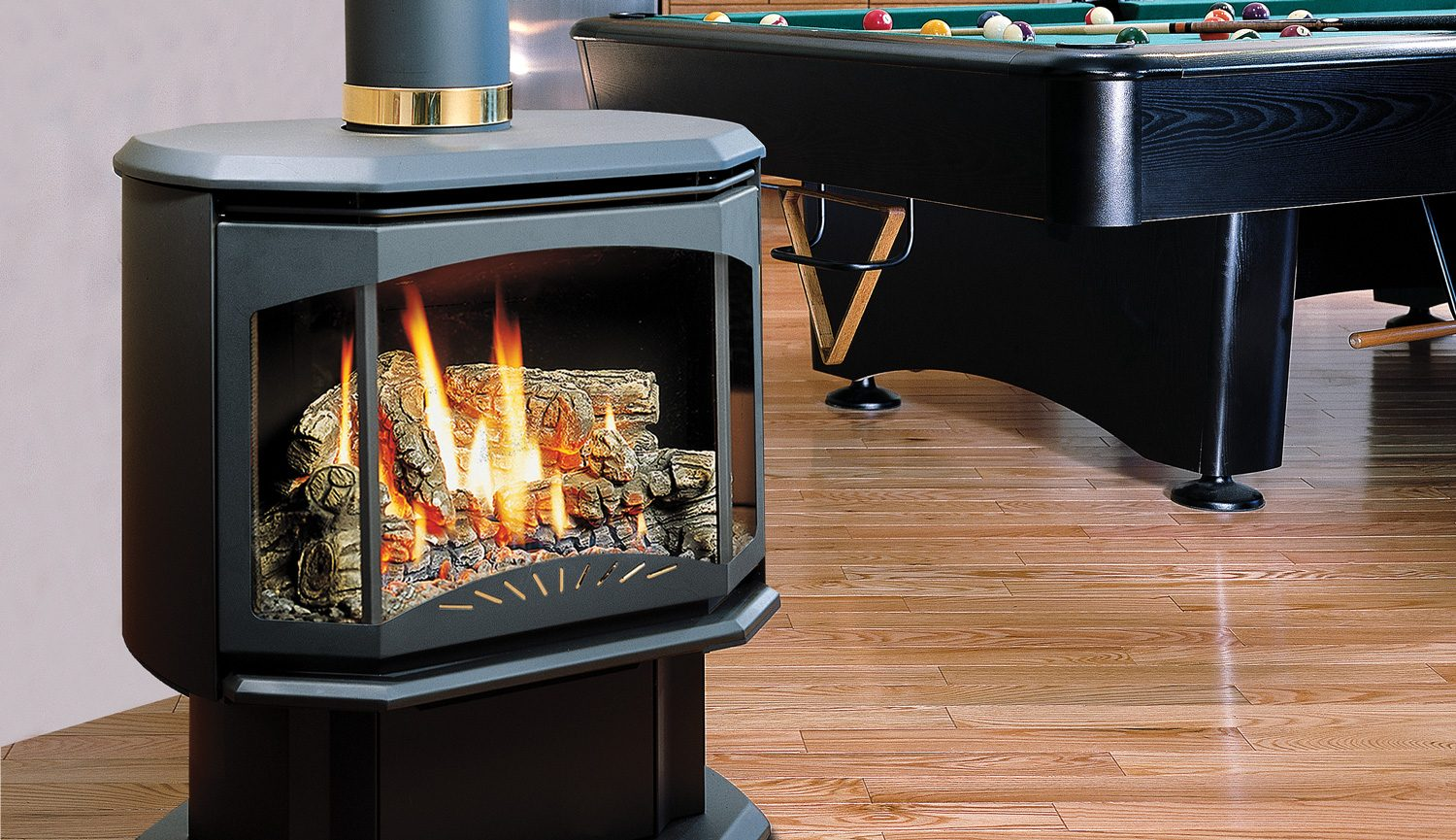 Buy Kingsman Fdv350 Free Standing Direct Vent Gas Stove In