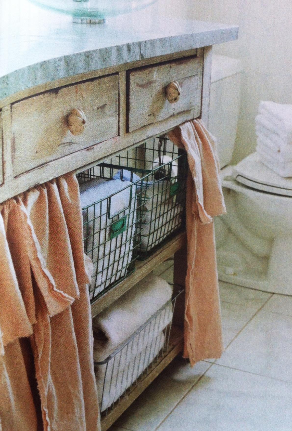 no sew 6 bathroom sink curtain cozy