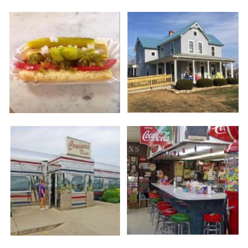 You'll find fun and unique dining too, like BK Scoop 30 varieties of specialty Hot Dogs and hand dipped Ice Creams, Cruiser's 50's style diner, the historic Olde Wayside Inn was built in 1804 and still offers home cooked meals and is now a registered Ohio historical landmark.