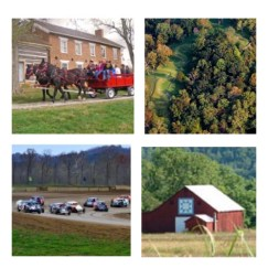 Antiquing, meeting local Craftsmen & Artisans, or plan your visit around the local Motorsports, and Music Events.