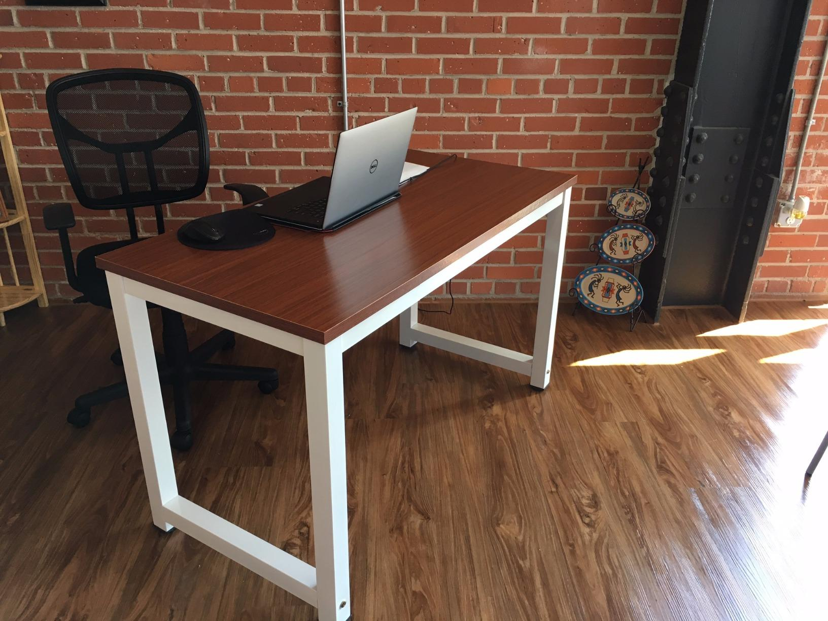 office desk & Review] 55 Inch Large Office Desk by Tribesigns \u2013 Mansion Like