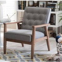 [Review] Baxton Studio Sorrento Mid Century Upholstered Lounge Chair