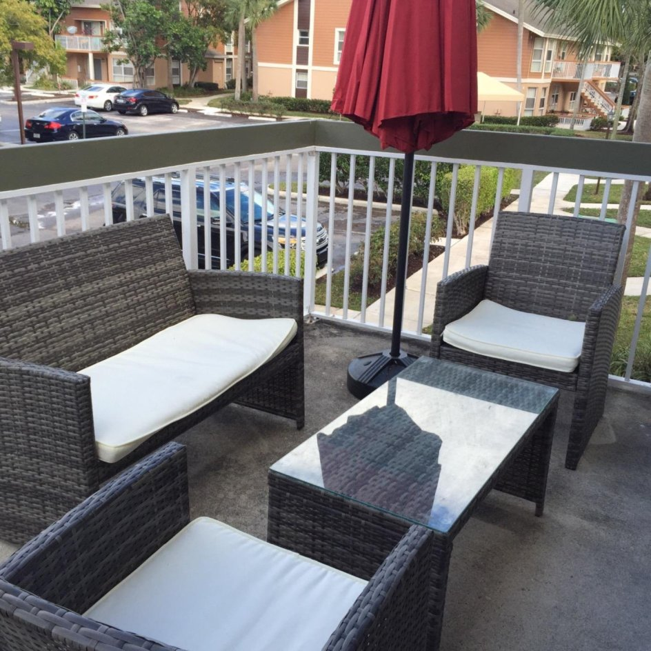 [Review] Four Piece Rattan Patio Furniture Set By Goplus