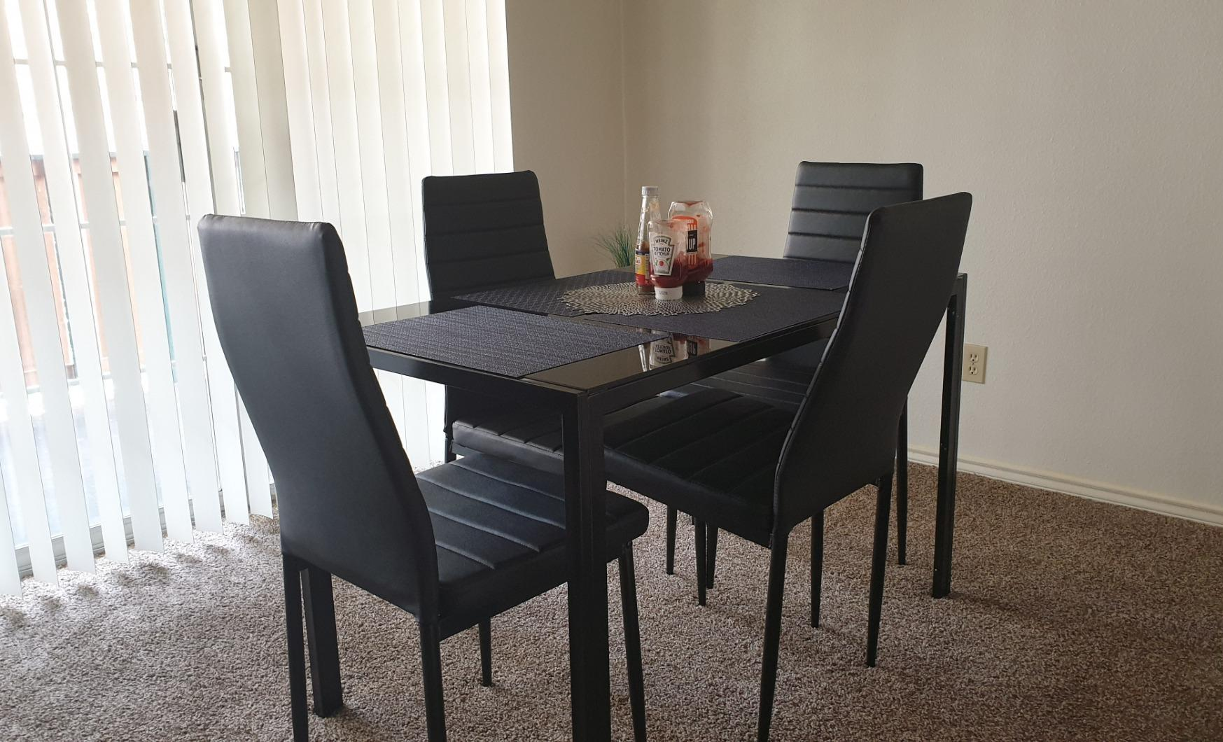 Review] BCP 5 Piece Kitchen Dining Table Set - Cozy Home 101