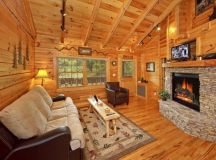 Quiet Cozy Log Cabin Near Smoky Mountains - Cozy Homes Life