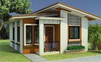 modern simple plans homes compact designs houses bungalow tiny floor philippines filipino mediterranean bedroom exterior minimalist luxury impact cozy beach
