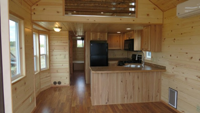 Portable Cabin Tiny House With Porch  Cozy Homes Life