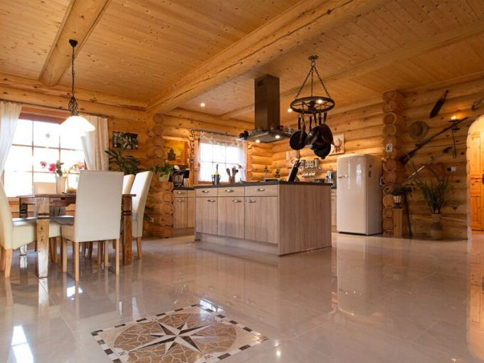 Cozy Log Cabin With Floor Plan Cozy Homes Life