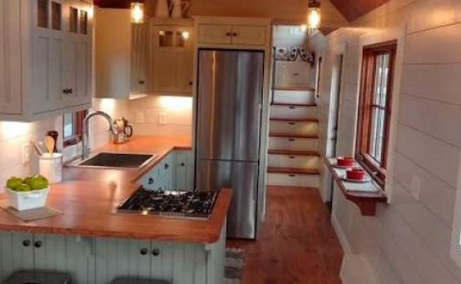 Beautiful Tiny Home With Full Kitchen Video Tour Cozy