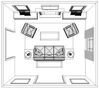 How to Plan an Accurate Living Room Interior Design Layout ...