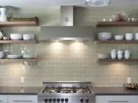 Shelf Adhesive Peel and Stick Backsplash | CozyHouze.com