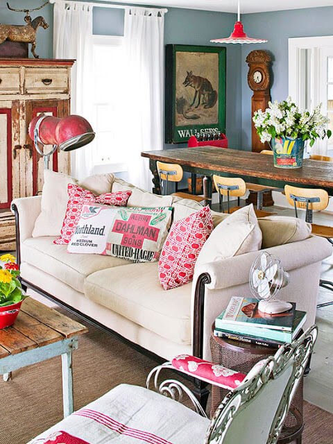Tips For Using Flea Market Finds In Decorating  Cozy