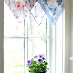 Kitchen Bay Window Treatments Island Lighting 6 Frugal & Unique · Cozy Little House