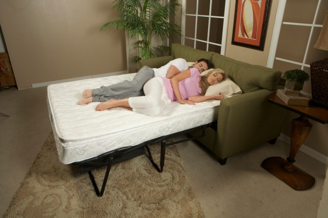 The Cozy Mattress In Sleeping Position