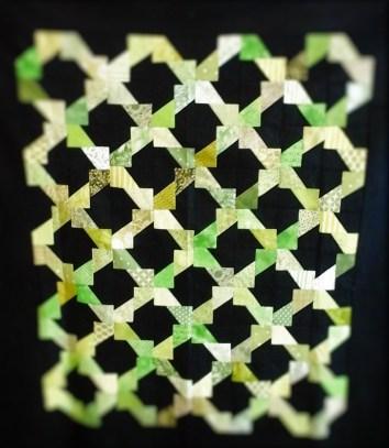 Garden Lattice in Green