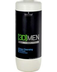 Schwarzkopf Professional 3D Men Deep Cleansing Shampoo 1000ml