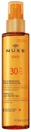 Nuxe Sun Tanning Oil SPF30 Sun Body Lotion 150ml (Waterproof)