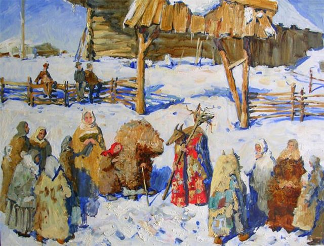 Празднование Нового года на Руси