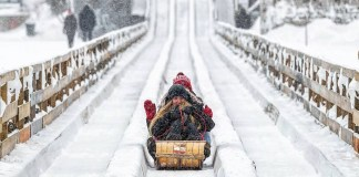 Зимний карнавал в Квебеке