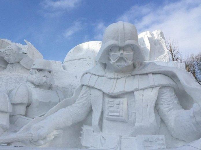 Снежный фестиваль в Саппоро
