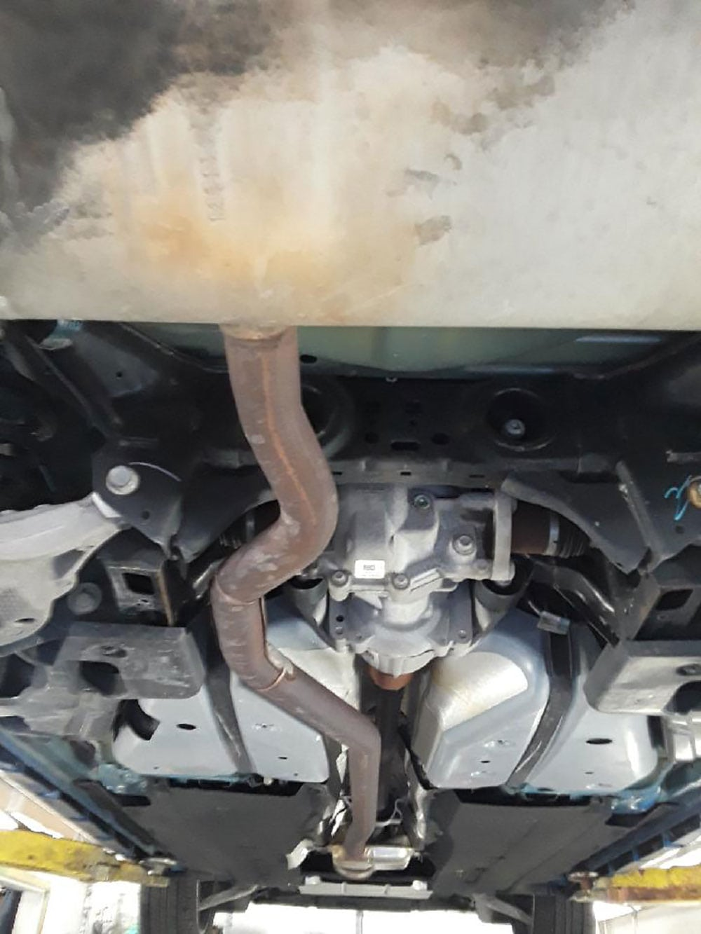 ford fusion 2017 exhaust cp e