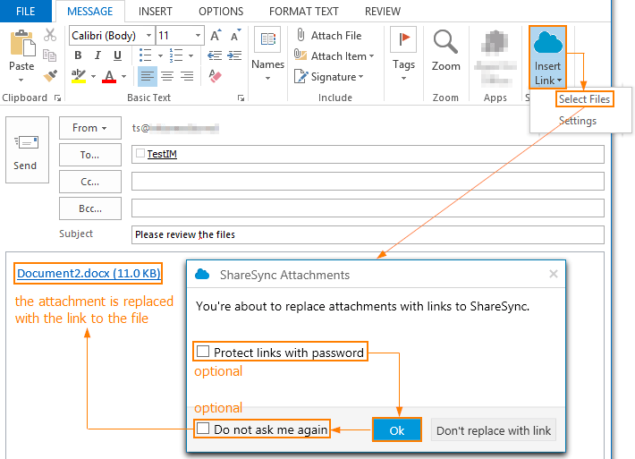 Outlook Plugin