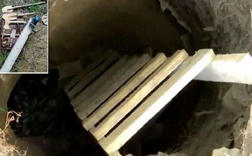 سيدة تحفر نفقا طوله 10 أمتار لتهريب ابنها من السجن